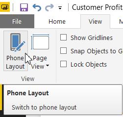 طراحی گزارش برای موبایل