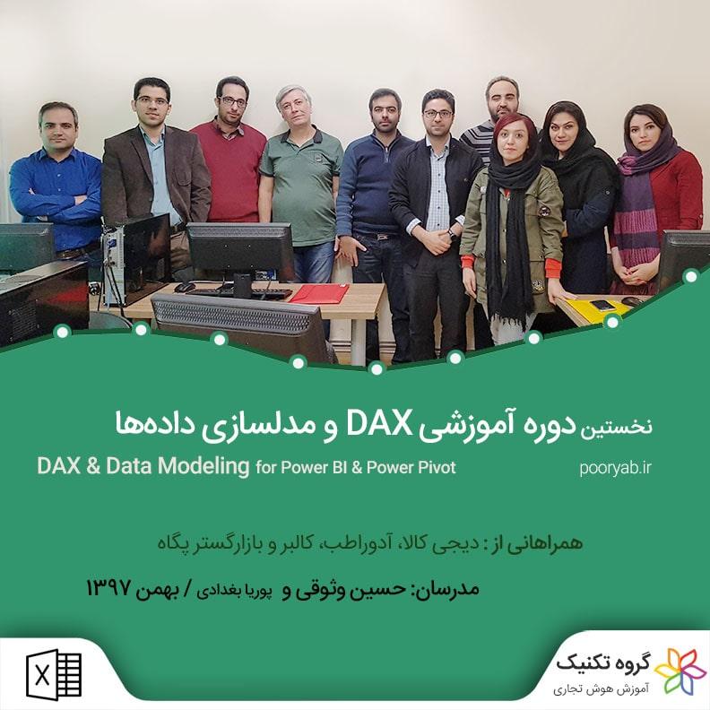 نخستین کلاس آموزش DAX و مدلسازی داده ها