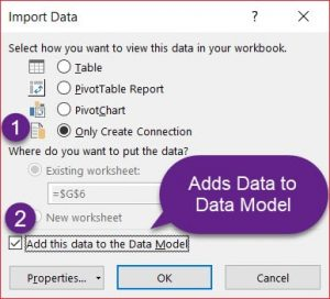 Data Model 4. Import to Data Model 300x272 - چیستی و مزایای مدلسازی دادهها در اکسل