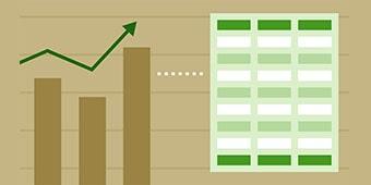 Excel Charts FImage min - تغییر رنگ سطری جدول با Conditional Formatting