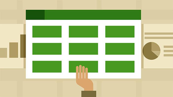 Excel Spreadsheet - معرفی مدلسازی داده ها (Data Modeling)