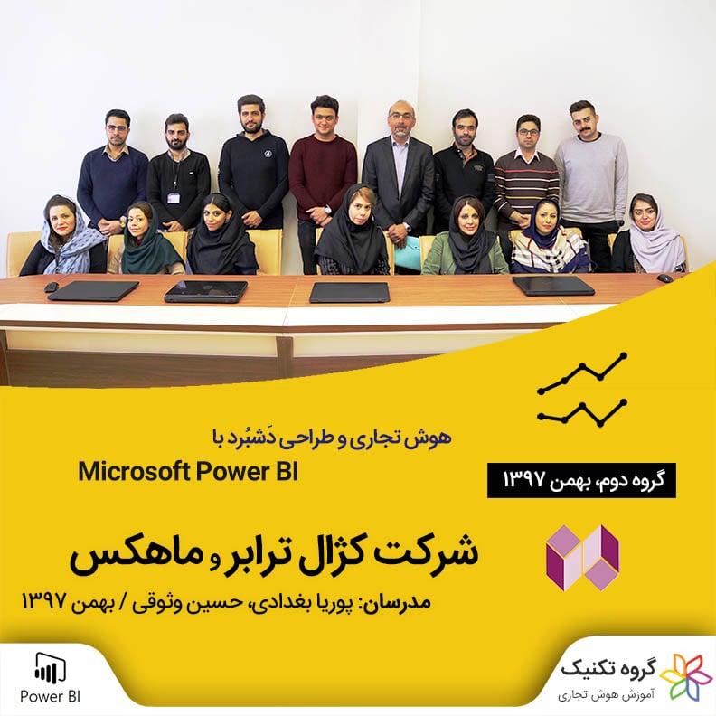 کلاس سازمانی آموزش هوش تجاری و طراحی داشبورد با Power BI