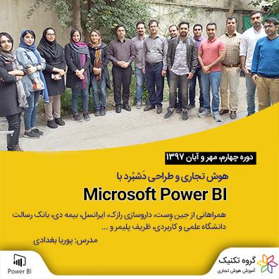 PowerBI 4 - گالری تصاویر دوره ها