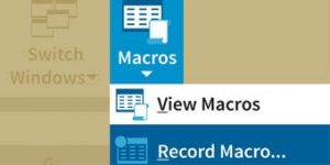 RecordMacro FImage1 min 300x150 - آموزش ماکرو در اکسل با یک مثال کاملا کاربردی