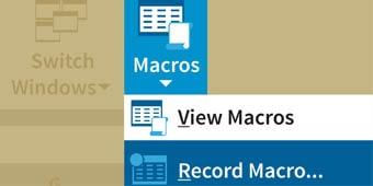 RecordMacro FImage1 min - معرفی برنامه نویسی اکسل (ماکرونویسی)