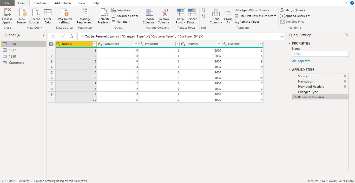 Screenshot 1010 - آموزش Power BI صفر تا سکو : قسمت پنجم ( ترکیب داده ها در Power Query)