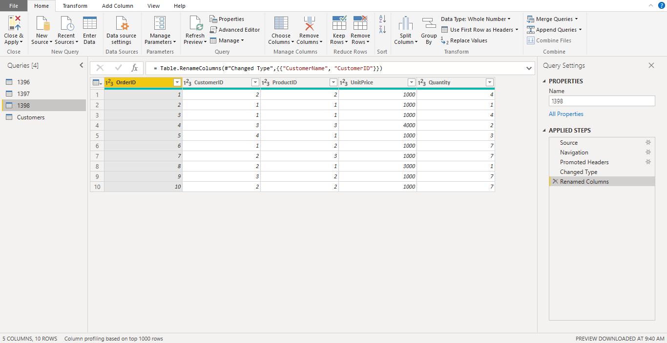 Screenshot 1012 - آموزش Power BI صفر تا سکو : قسمت پنجم ( ترکیب داده ها در Power Query)