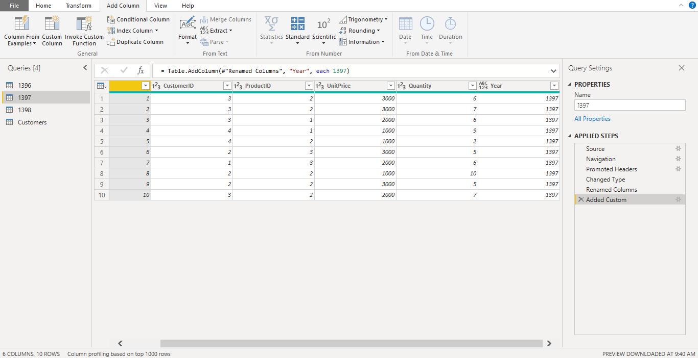 Screenshot 1017 - آموزش Power BI صفر تا سکو : قسمت پنجم ( ترکیب داده ها در Power Query)