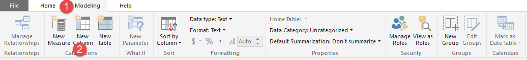 Screenshot 1060 - آموزش Power BI صفر تا سکو : قسمت ششم (کاربردهای زبان DAX)