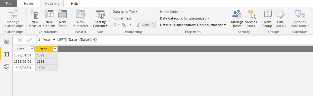 Screenshot 1064 - آموزش Power BI صفر تا سکو : قسمت ششم (کاربردهای زبان DAX)