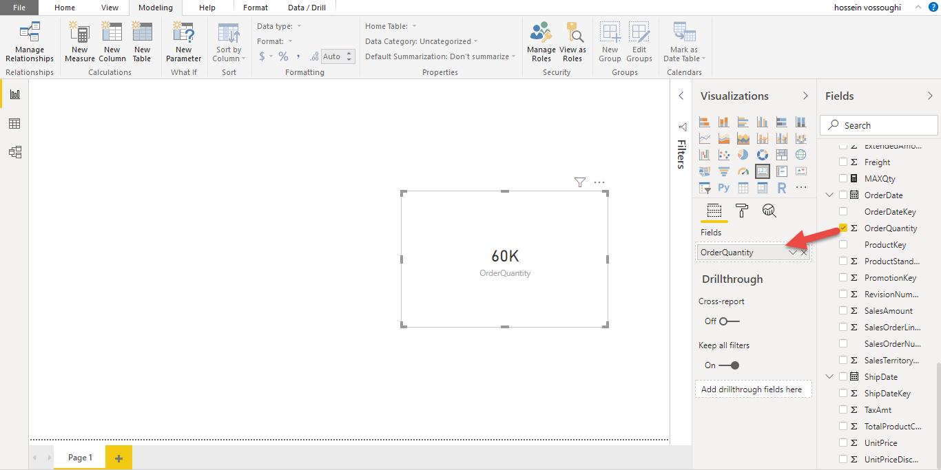 Screenshot 1139 - آموزش Power BI صفر تا سکو : قسمت هفتم ( نوشتن Measure )