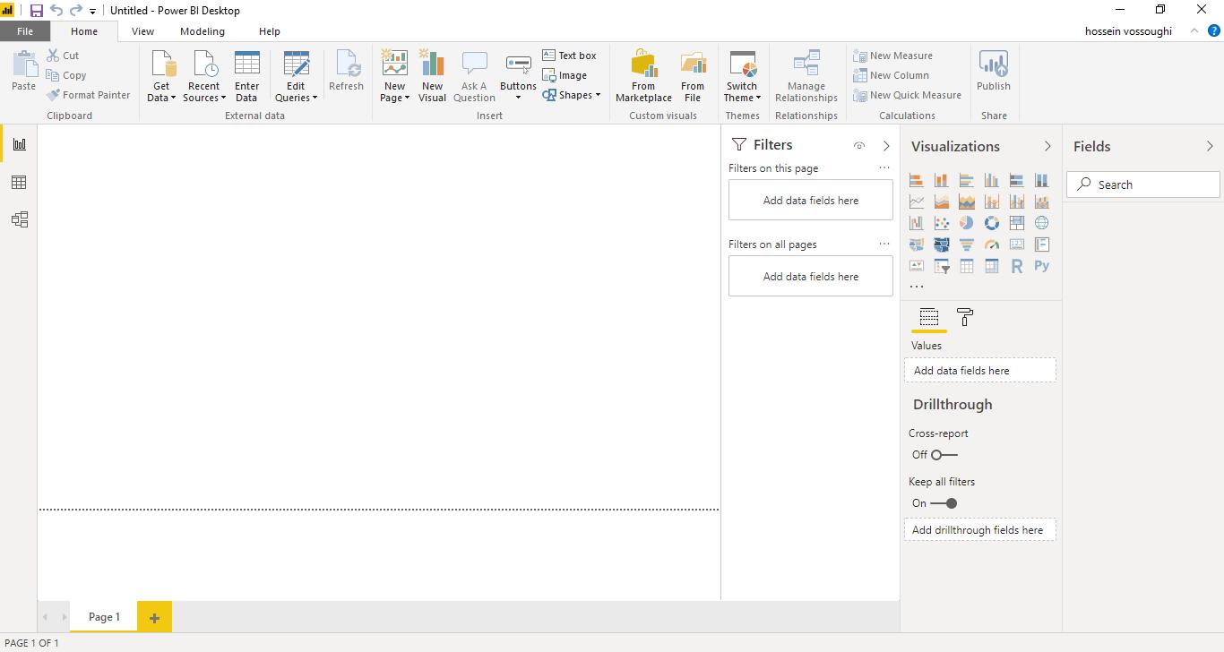 Screenshot 812 - آموزش Power BI صفر تا سکو : قسمت اول (دانلود، نصب و راه اندازی پاوربی ای)