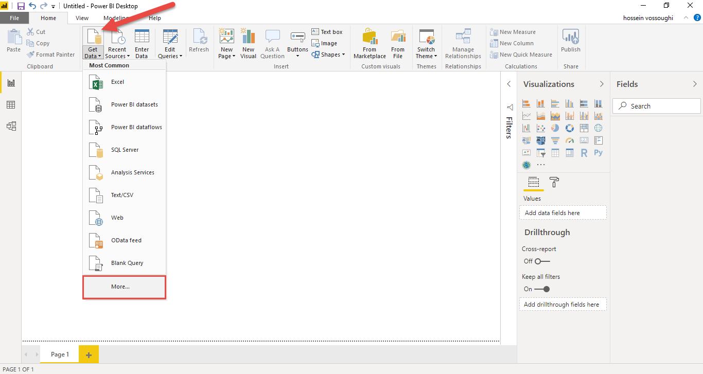 Screenshot 827 - آموزش Power BI صفر تا سکو : قسمت دوم (اتصال به منابع داده در Power BI)