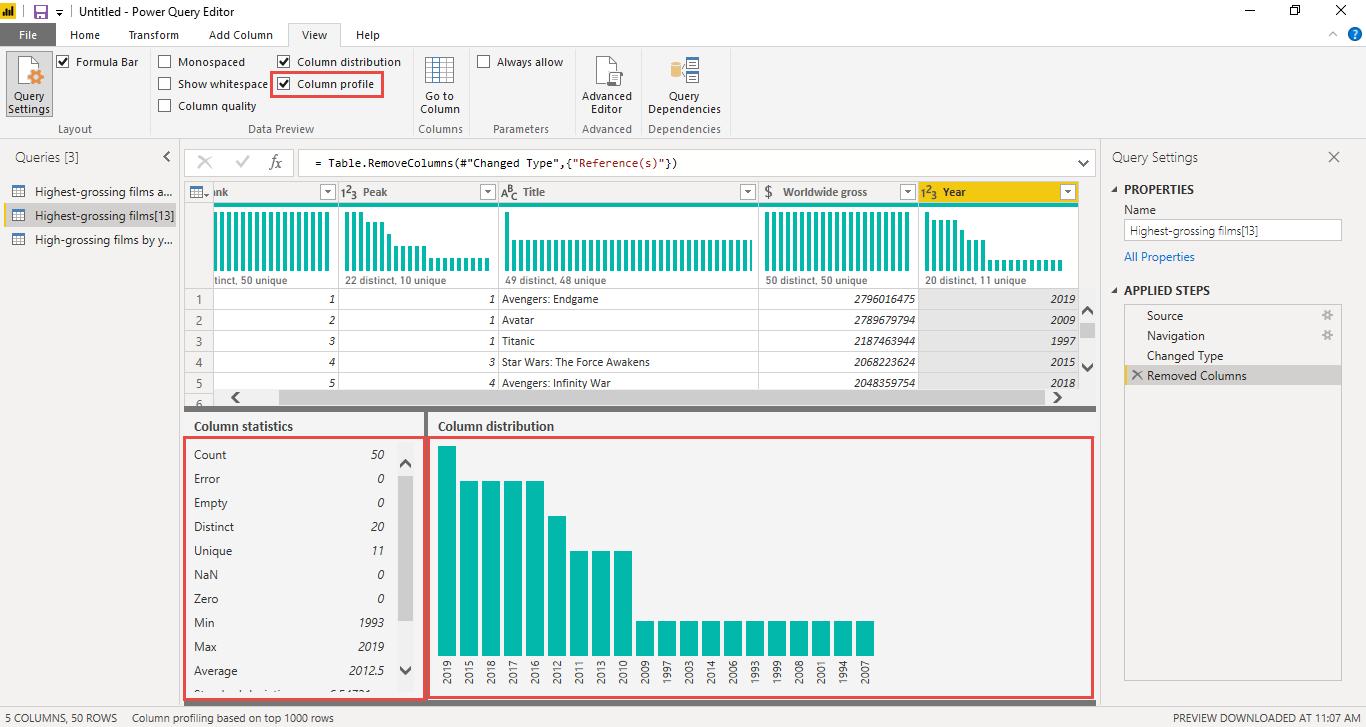 Screenshot 884 - آموزش Power BI صفر تا سکو : قسمت سوم ( پاکسازی داده در Power Query )