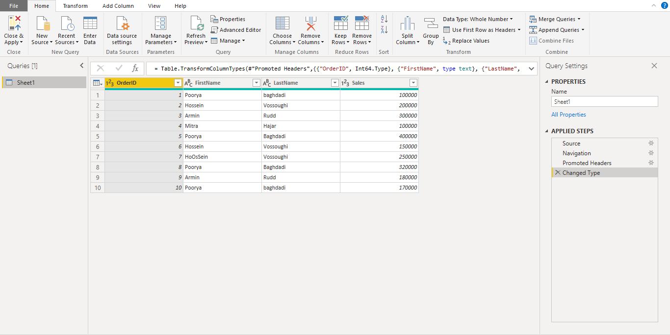 Screenshot 902 - آموزش Power BI صفر تا سکو : قسمت چهارم ( آماده سازی داده در Power Query )