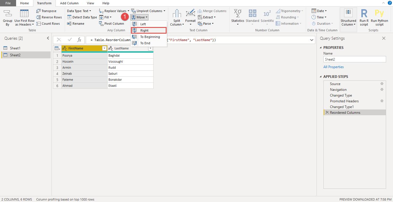 Screenshot 931 - آموزش Power BI صفر تا سکو : قسمت چهارم ( آماده سازی داده در Power Query )