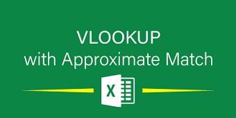 approximate min - کاربرد range_lookup در فرمول vlookup برای جستجوی بازه ای در اکسل
