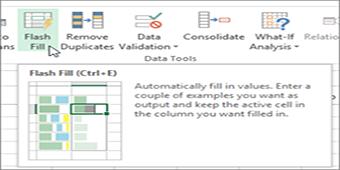 آشنایی با ابزار Flash Fill همراه با مثال کاربردی (ارائه شده در شرکت ایکاپ)