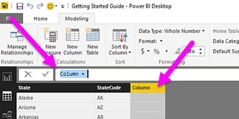 calculated field power bi 1 min - گروه بندی چارت ها در Power BI