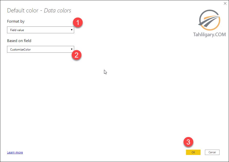 conditional color 13 - رنگ بندی شرطی با زبان DAX