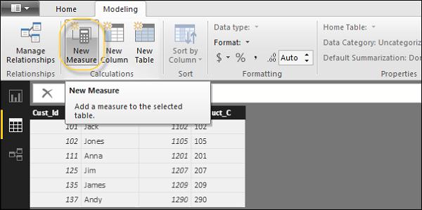 create calculated measure - مقدمهای بر فرمولنویسی DAX