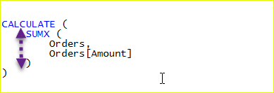 dax code formatting 5 - فرم دهی به کد های DAX