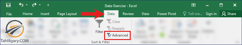 حذف داده های تکراری در اکسل