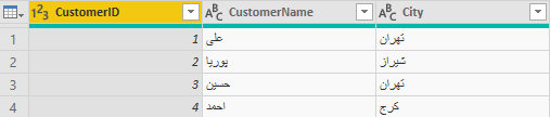 f1 1 - انواع Join در Power Query