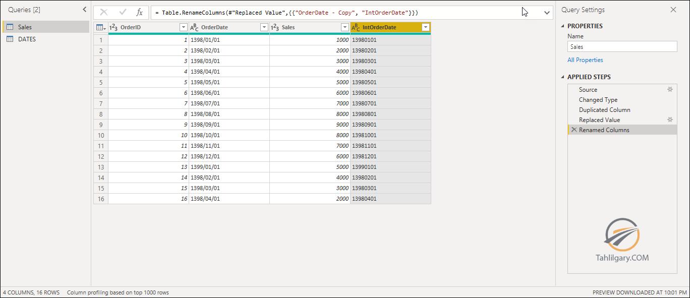 filter power query 3 - فیلتر جدول با جدول دیگر در Power Query