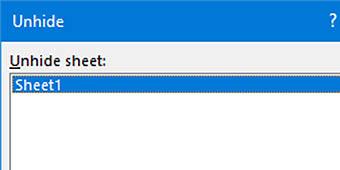 hide Sheets Excel FIMage - مزایای اکسل