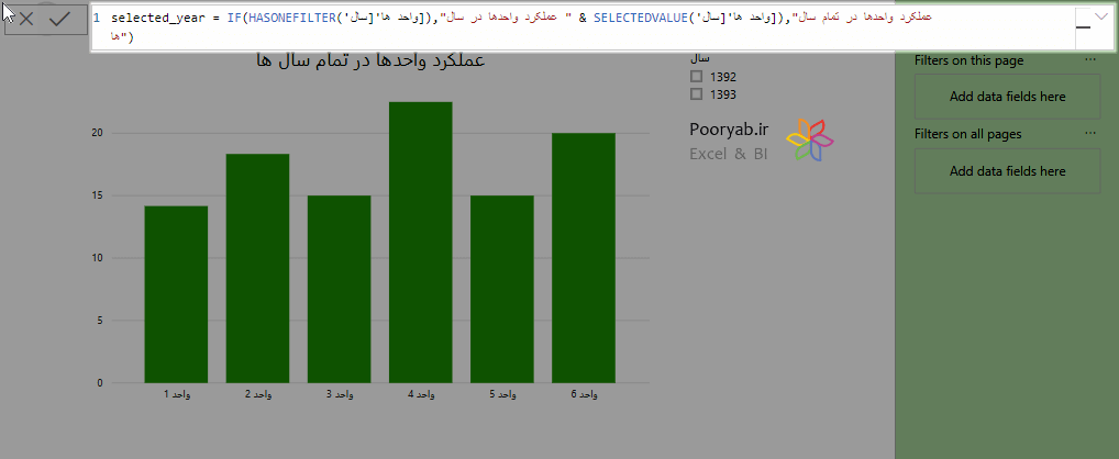 measure cf on visualizationtitle min - آموزش تغییرات آوریل 2019 در Power BI