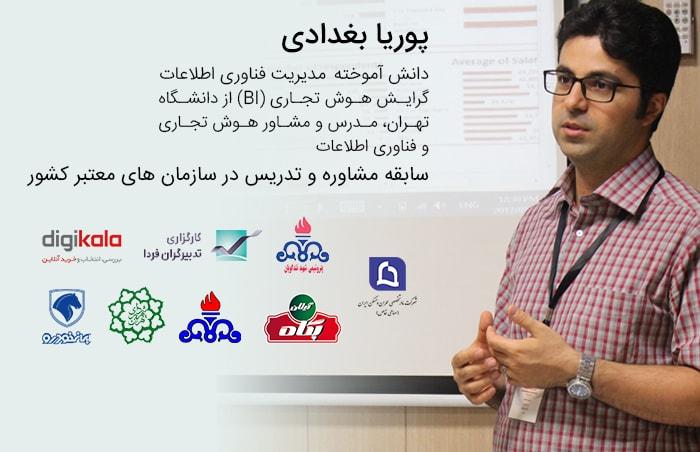 پوریا بغدادی - مدرس اکسل