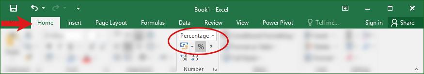 percentage 5 - محاسبه درصد در اکسل