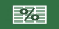 percentages 200x100 - مدیریت شیت ها در اکسل