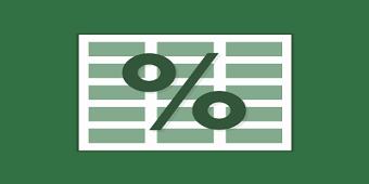 percentages - محاسبه درصد در اکسل