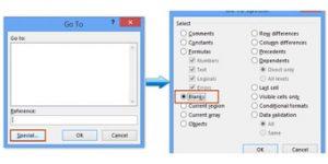remove rows 300x150 - حذف سطر های خالی جداول اکسل با و بدون ماکرو