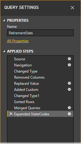 shapecombine querysettingsfinished2 1 - شکل دادن داده‌ ها در Power BI