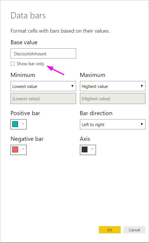 table formatting 3 default - فرمتدهی شرطی در Power BI